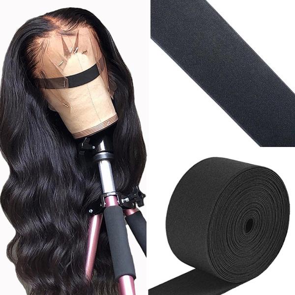 cinta elastica para pelucas