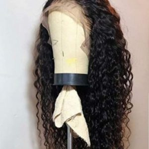 peluca rizada natural virgen
