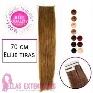Extensiones Adhesivas Liso 70cm