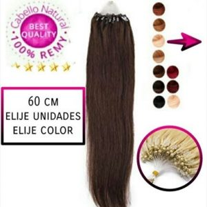 Extensiones Micro Ring Liso 60cm