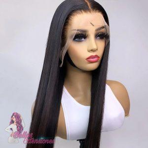 peluca lisa encaje completo