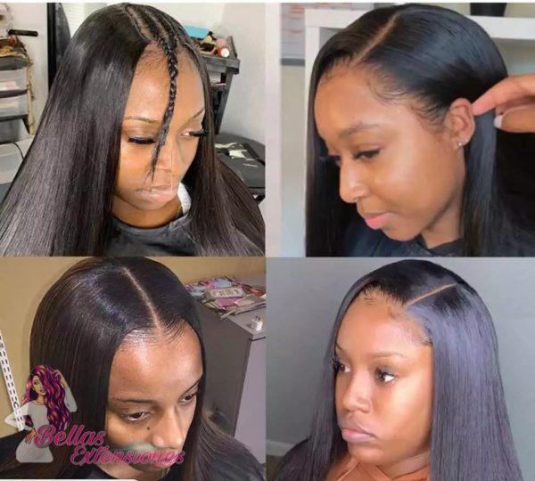 peluca natural parte u lisa