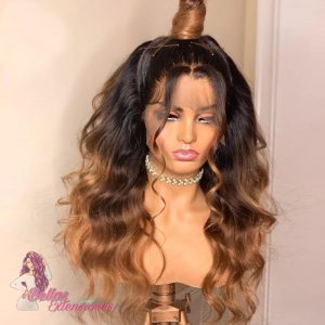 peluca balayage natural lace front